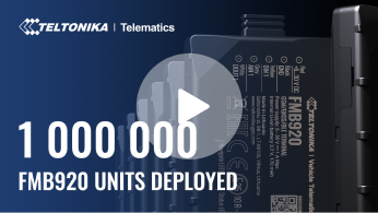 1 Million FMB920 Trackers Deployed