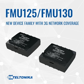 Our popular FMB1 devices with 3G network are here