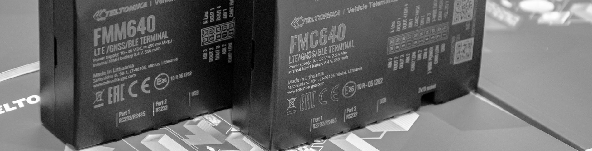 NEW 4G (LTE CAT1 and CAT-M1) Devices – FMC640 and FMM640