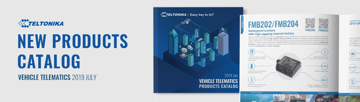 NEW GPS VEHICLE TELEMATICS PRODUCTS CATALOG
