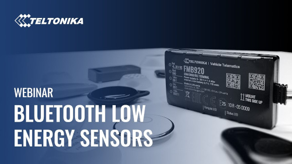 Bluetooth Low Energy sensors
