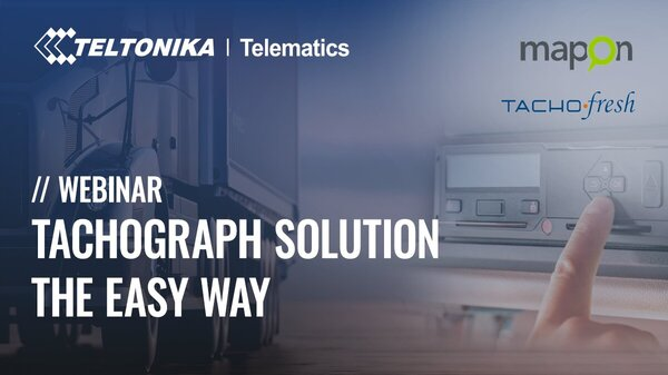 TACHOGRAPH SOLUTION THE EASY WAY