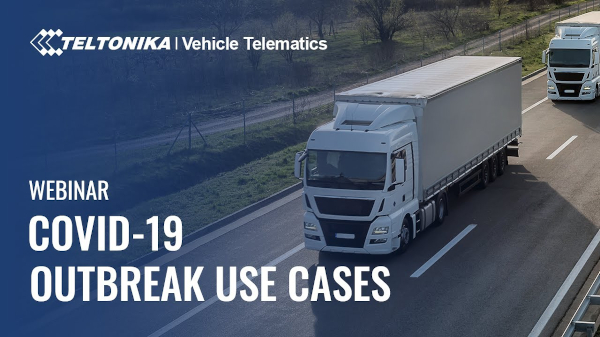 Vehicle Telematics use cases in the event of COVID-19 outbreak