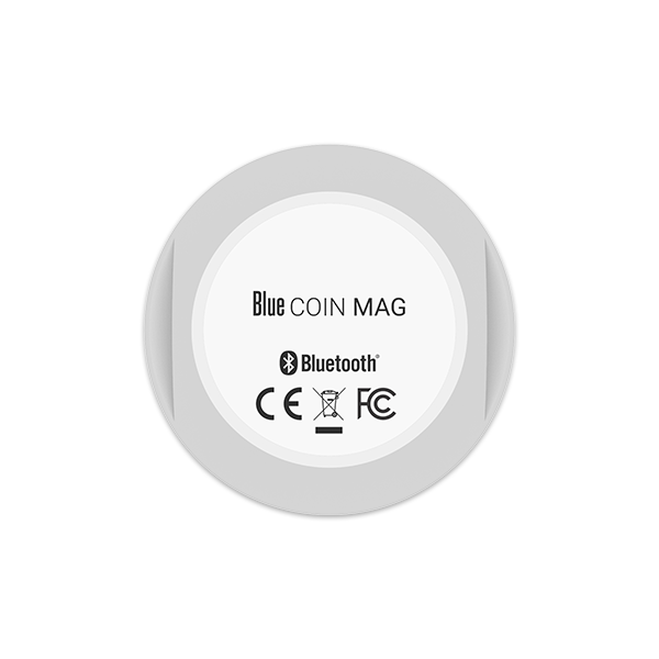 Blue COIN MAG - Magnetic Bluetooth Sensor