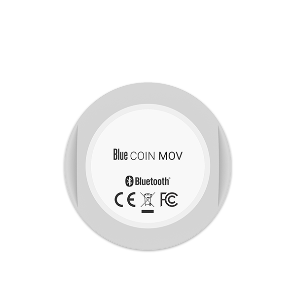 Blue COIN MOV - Movement Bluetooth Sensor