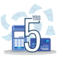 ONE-time payment – 500 MB, 5 Years