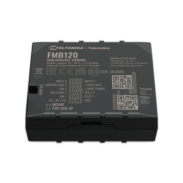FMB120 - 2G Bluetooth Advanced GPS Tracker