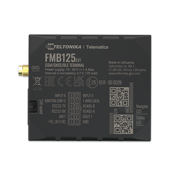 FMB125 - 2G Bluetooth Special GPS Tracker