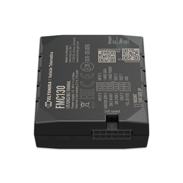 FMC130 - 4G LTE Bluetooth Advanced GPS Tracker